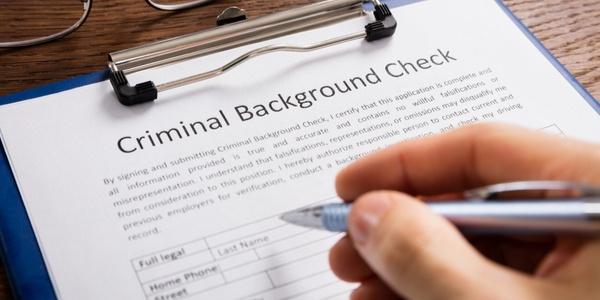 Employment background check
