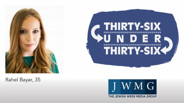 T&M's Rahel Bayar featured in The Jewish Week 36 Under ...